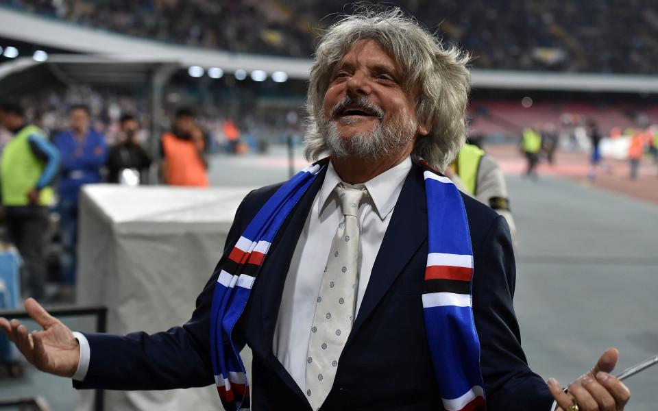 Президентът на Сампдория: Прекратете сезона в Серия А