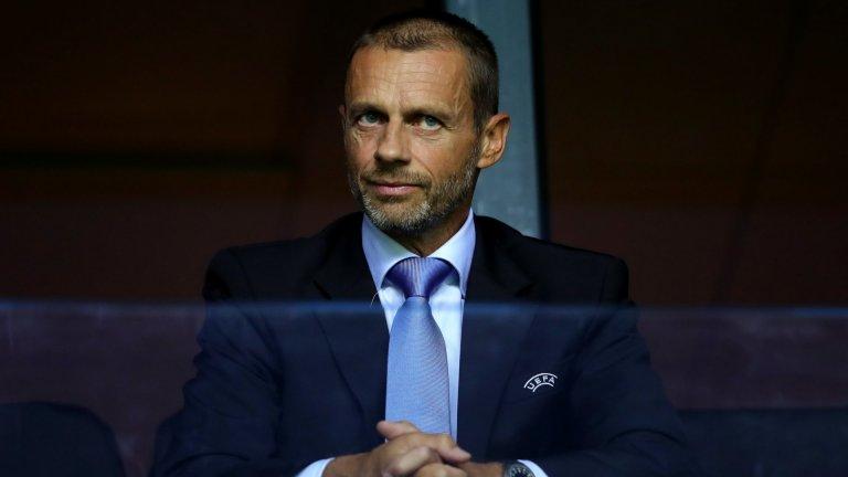 УЕФА: Футболният сезон трябва да приключи до края на август 1