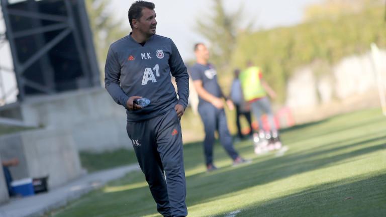 Крушчич: Ще разчитам на младите футболисти 1