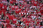 Феновете на ЦСКА пълнят стадиона за първия мач с Локомотив