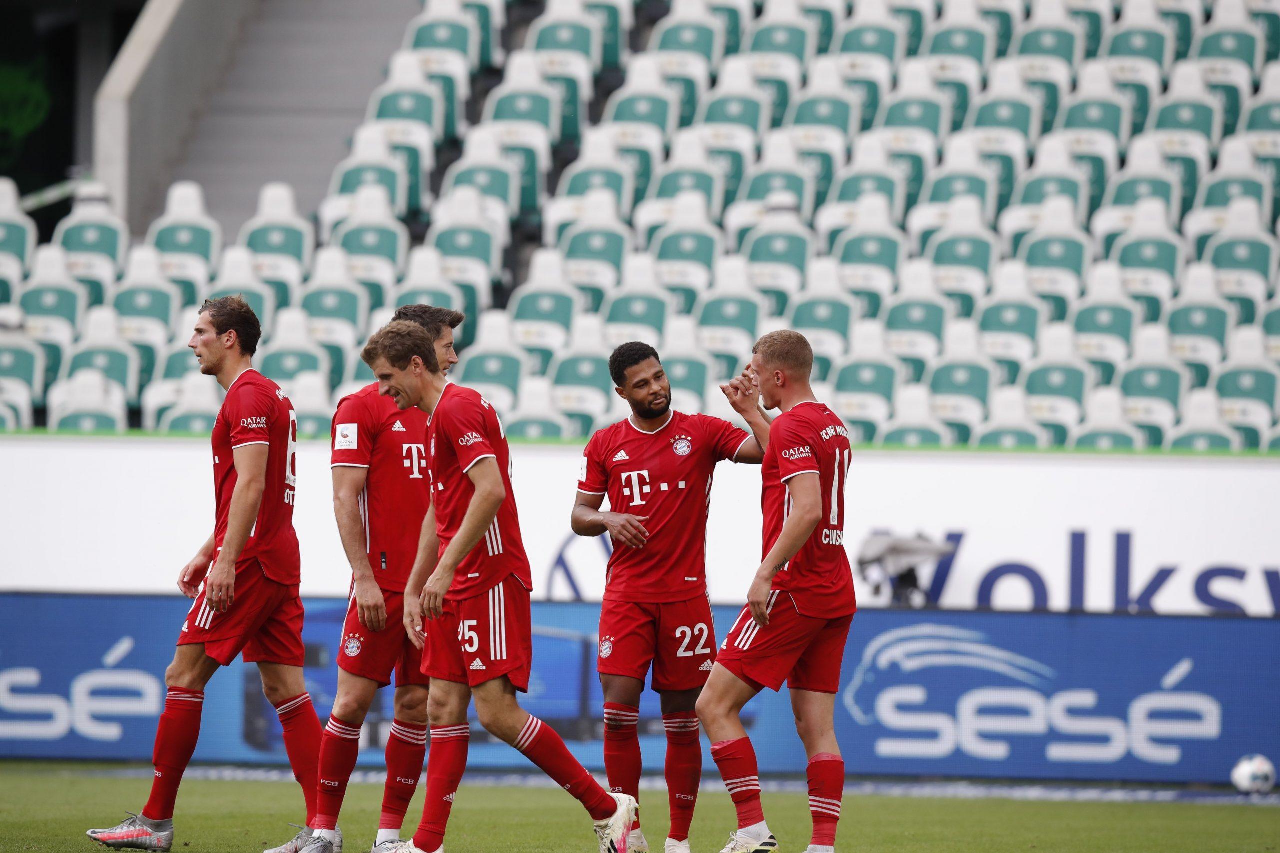 Байерн закри Бундеслигата с разгромен успех над Волфсбург 1