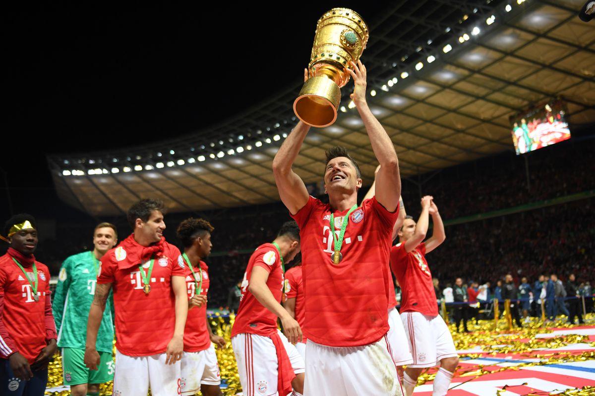 Байерн Мюнхен записа шампионски дубъл, след бой над Байер за Купата 1