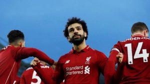 Два гола и асистенция на Салах донесоха победа номер 30 за Ливърпул