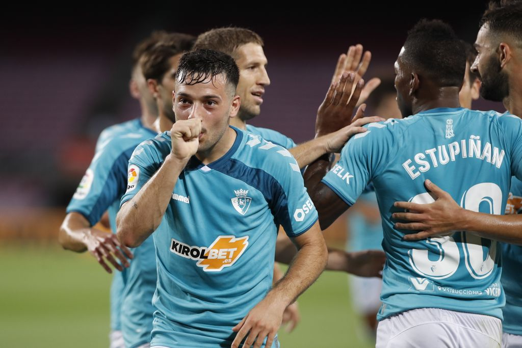 """10 от Осасуна удариха Барселона на """"Ноу Камп"""" 1"""