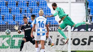 Леганес се бори, но не успя да обърне Реал Мадрид и изпада от Ла лига