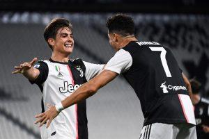 Юве взе дербито срещу Лацио и е на 5 точки от 9-та си поредна титла