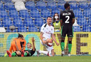Два гола на Ибрахимович изстреляха Милан в зона Лига Европа