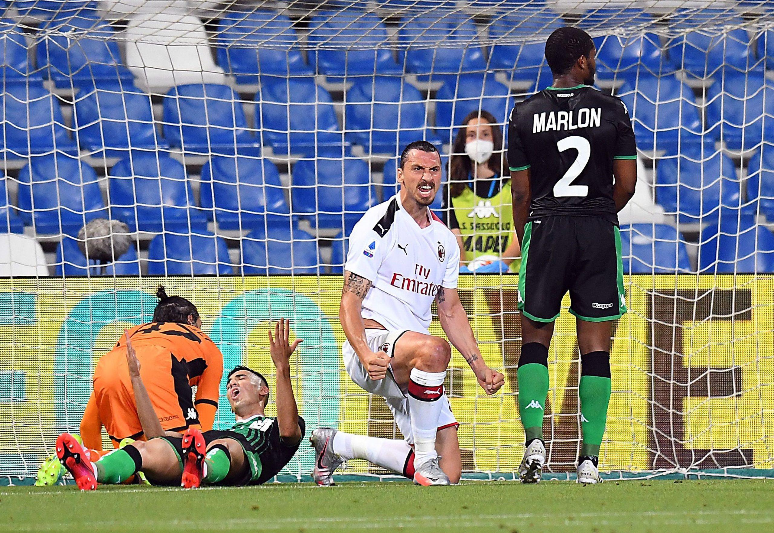 Два гола на Ибрахимович изстреляха Милан в зона Лига Европа 1
