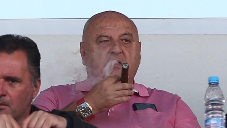 Венци Стефанов: Класирахме се за Лига Европа с бюджет от 3 милиона 1