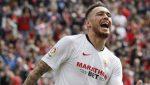 Късен гол на Окампос прати Севиля на 1/2 финалите от Лига Европа