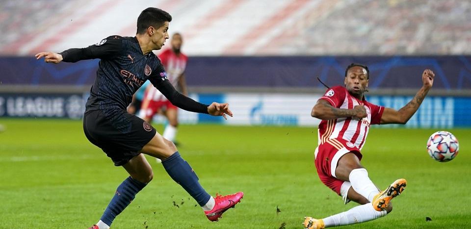 Ман Сити е на осминафинал след скромна победа над Олимпиакос 21