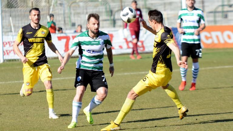 Ботев и Черно море завършиха 1:1 и остават далеч от топ 6