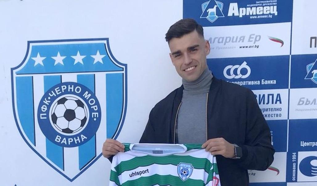Новото попълнение на Черно море иска да се открои в efbet Лига 1