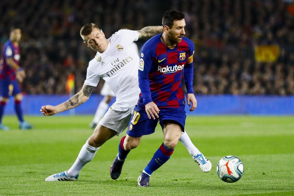 Реал Мадрид – Барселона стартови състави