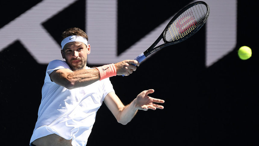 Жалко! Контузия спря Гришо на четвъртфиналите на Australian Open 25