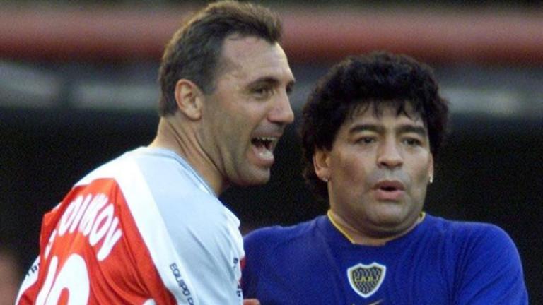Камата: За мен Марадона си остава приятел без граници 1