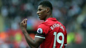 Юнайтед търси нов нападател като заместник на Маркъс Рашфорд