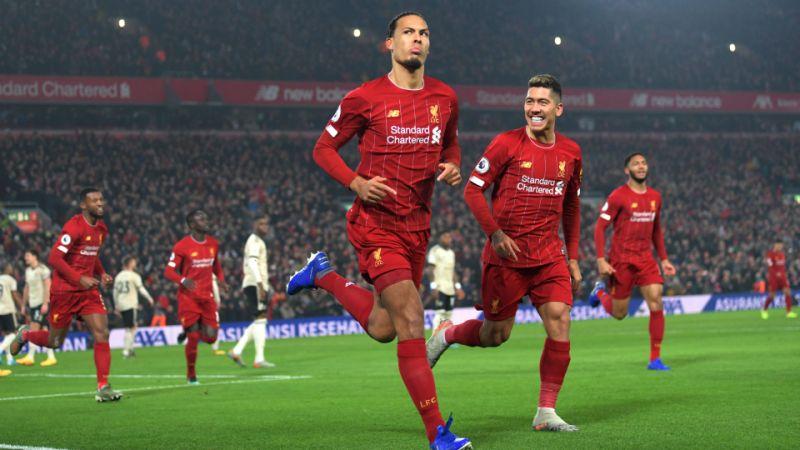 Ливърпул спечели дербито с Ман Юнайтед и вече има 16 точки аванс на върха