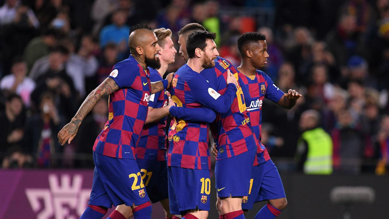 Барселона разгроми Леганес и продължава напред за Купата на Краля