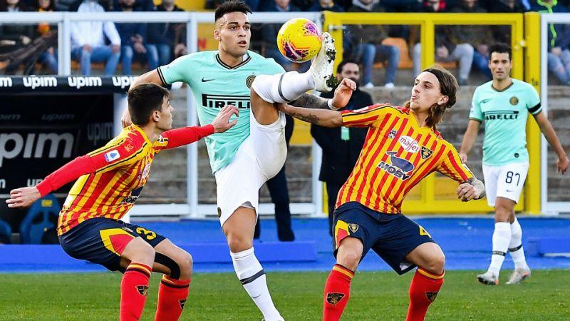 "Интер се издъни срещу Лече на ""Виа Дел Маре"""