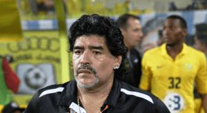 Футболист на Лудогорец отива при Марадона