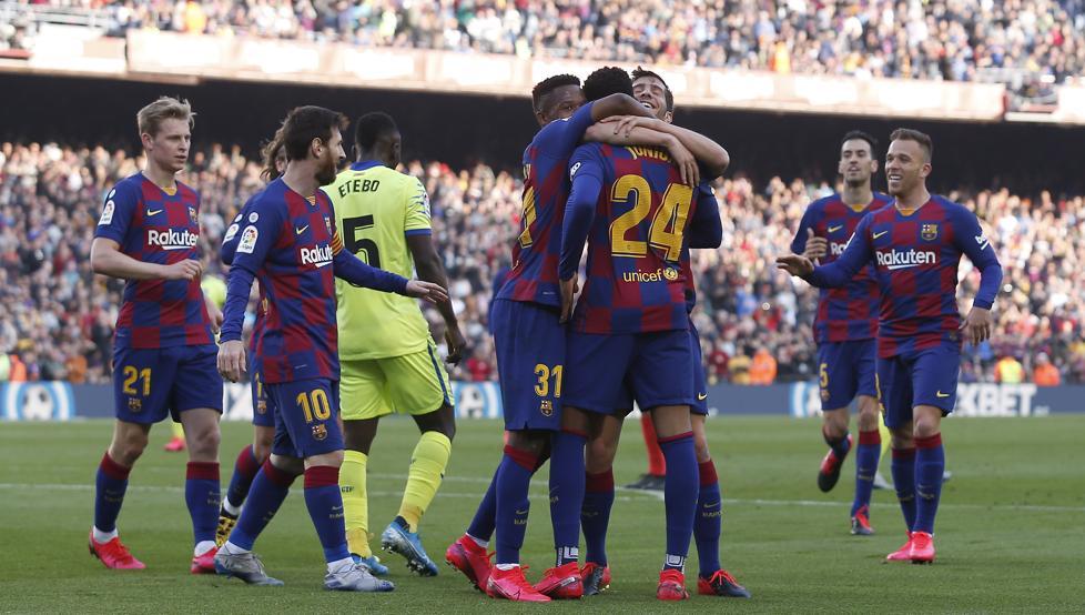 Труден, но много важен успех за Барселона срещу Хетафе