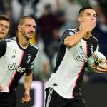 Роналдо с рекорд за Ювентус при поражението от Верона