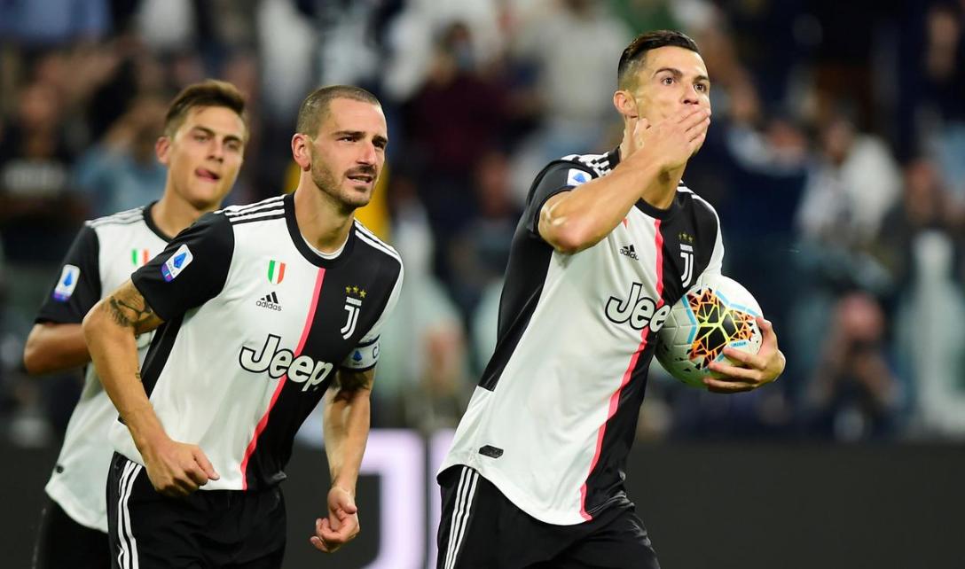 Роналдо с рекорд за Ювентус при поражението от Верона 1