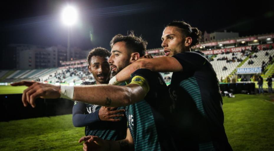 Бруно Фернандеш е най-добър играч на месеца в първенството на Португалия