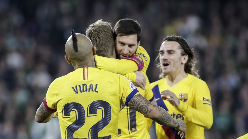 Барселона изстрада победата срещу Бетис, двата тима завършиха двубоя с по 10 души 1