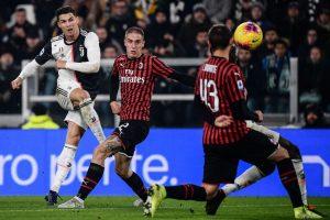 """Кристиано спаси Ювентус от загуба срещу Милан на """"Сан Сиро"""""""