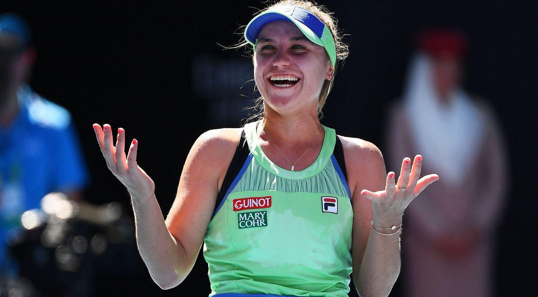София Кенин е шампионката при жените на Australian Open!