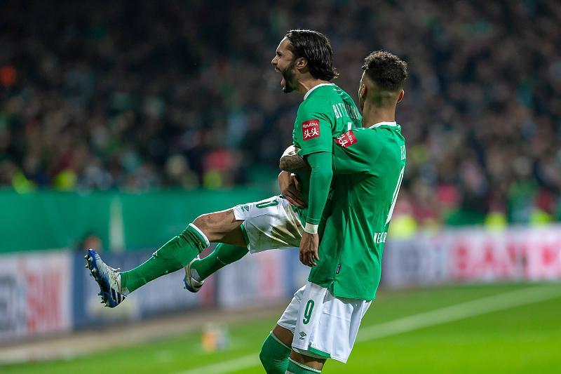 Вердер отстрани Борусия Дортмунд за Купата на Германия в голово шоу 1
