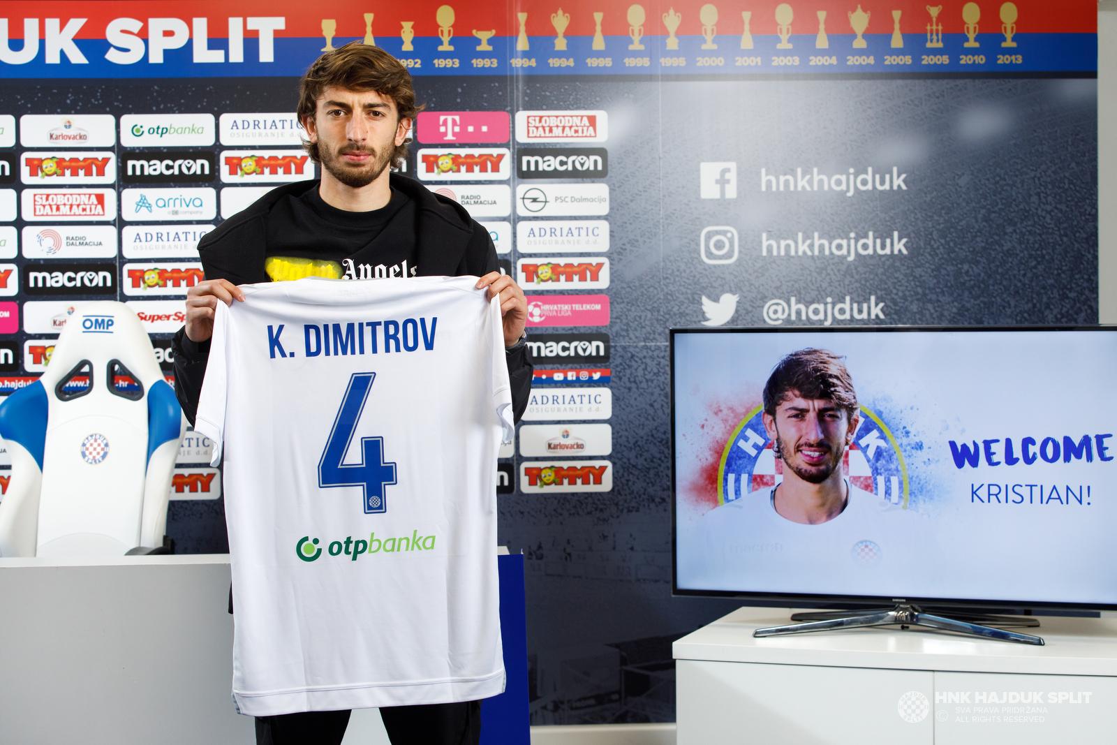 Хайдук Сплит представи Кристиян Димитров
