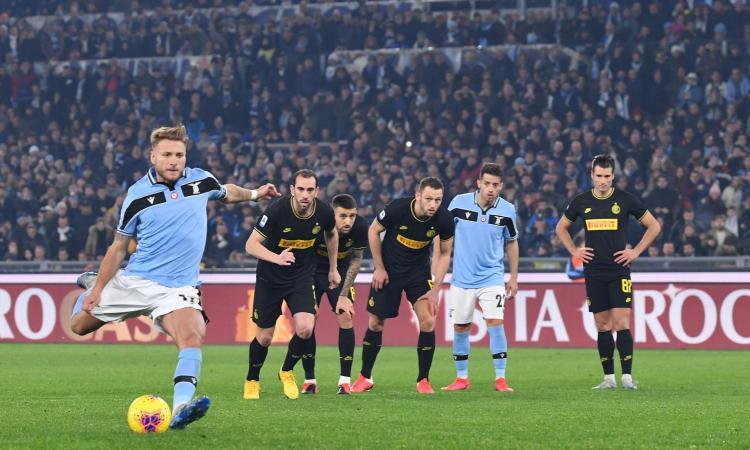 Лацио доказа шампионските си амбиции с победа над Интер 1