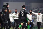 """Сасуоло изненада Рома на """"Мапей Стейдиъм"""", Капуто с 2 гола"""