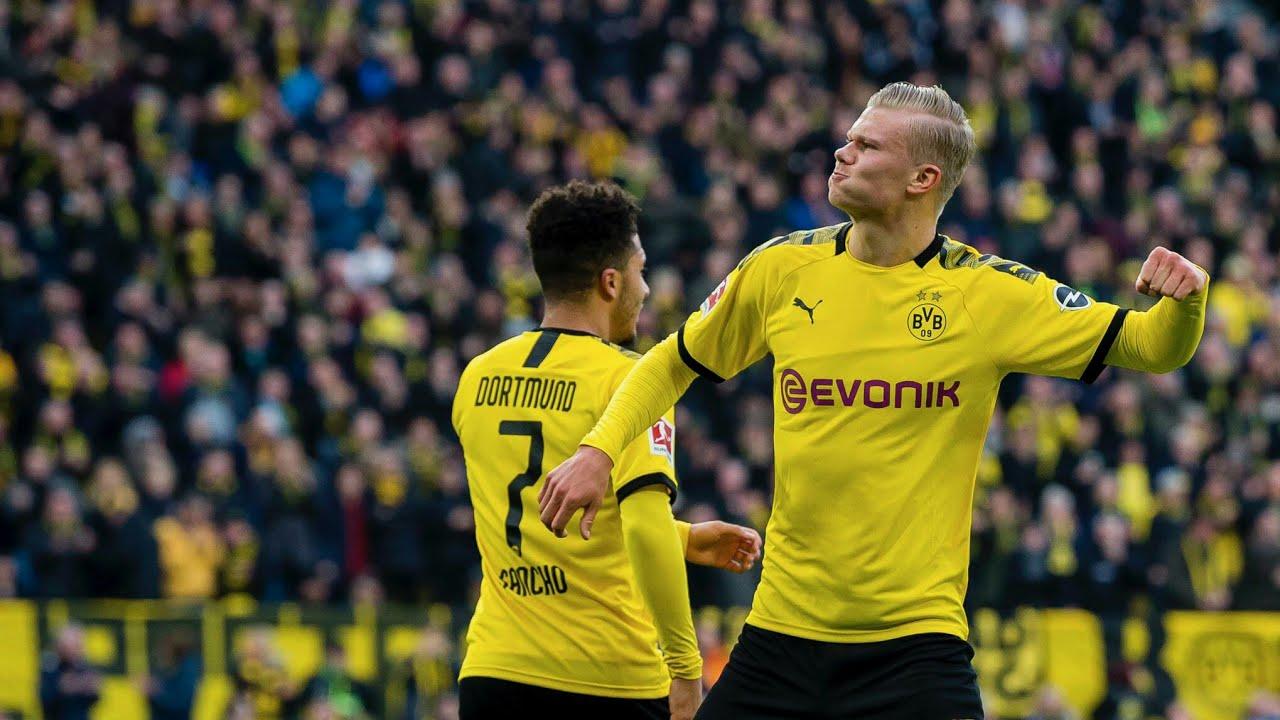 Борусия не спира да гази в Бундеслигата, Холанд отново с 2 гола