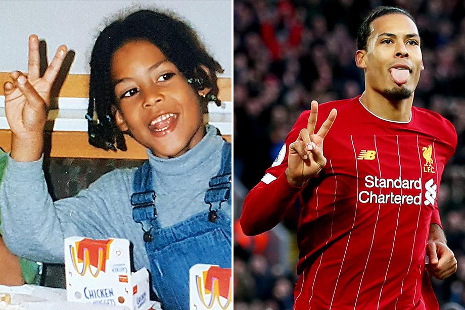 Някои от най-популярните днес футболни звезди като деца СНИМКИ 7
