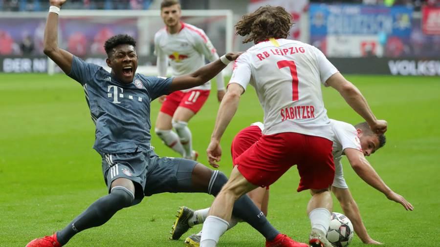 РБ Лайпциг изпусна Байерн Мюнхен в дербито на Бундеслигата