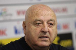 Шефът на Славия: Не очаквах да има такъв спад в играта на отбора