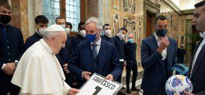Папа Франциск поздрави отбора на Андрей Гълъбинов