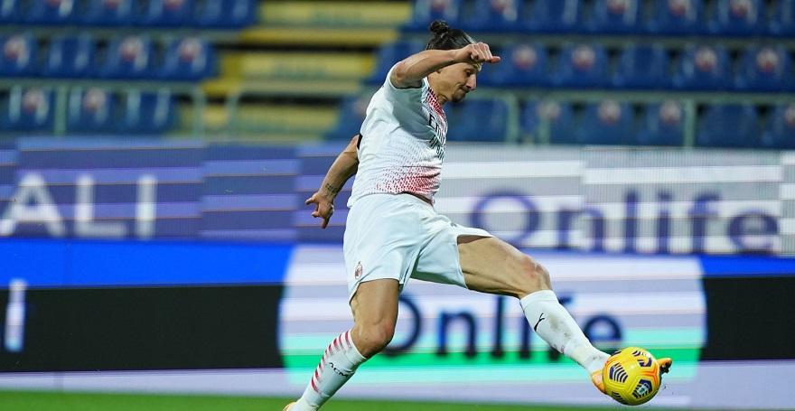 Ибрахимович отново се развихри, носи нова победа за Милан 1