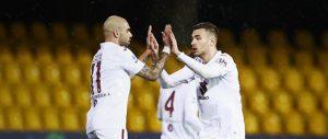 Гол в добавеното време донесе точка на Торино в мача с Беневенто