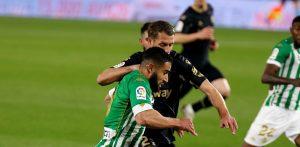 Алавес пропиля два гола аванс и загуби визитата си на Бетис