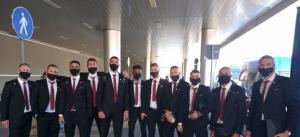 Слънчево време и безоблачно небе посрещнаха ЦСКА в Рим
