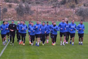 Арда проведе първата си тренировка в Турция