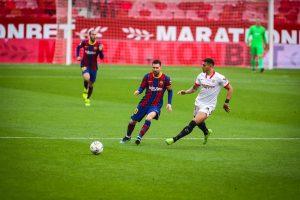 Меси с гол и асистенция при победа на Барселона над Севиля