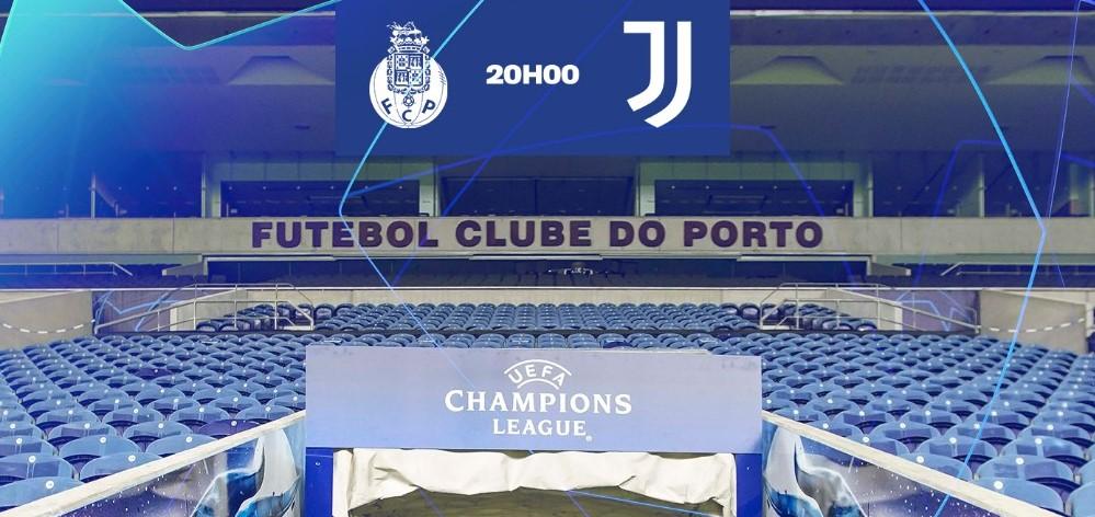 Порто - Ювентус, съставите за двубоя от Шампионска лига 25
