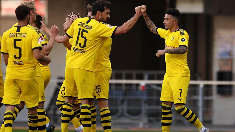 Борусия Дортмунд наниза 6 гола на Падерборн за едно полувреме 1