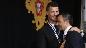 Кристиано Роналдо и агентът му дариха над 1 млн. евро за борбата с Covid-19